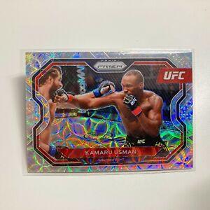 Kamaru Usman 2021 Panini Prizm UFC Premium Box Set Scope Prizm Card 43/99 #151
