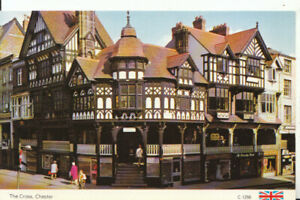 Cheshire Postcard - The Cross - Chester - Ref 14687A