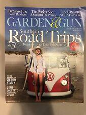 Garden & Gun Magazine June July 2016 Southern Road Trips West Fraser Summer Pies