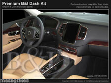 WOOD GRAIN DASH KIT FOR VOLVO XC90 FITS (WITHOUT OEM WOOD)