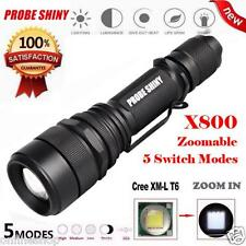 Zoomable 4000 Lumen 5 Modes CREE XML T6 LED Focus Torch Lamp Light 18650 Battery