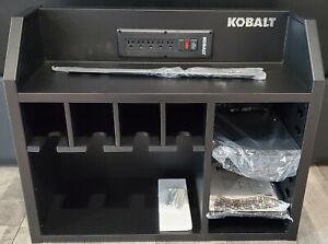 """Kobalt 30"""" W x 24"""" H x 12"""" D Steel Tool Chest (Black) Model SHSKCS30"""