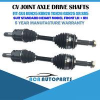 SR SR5 LH & RH CV Joint Drive Shaft for Toyota Hilux KUN25 KUN26 TGN26 GGN25 4WD