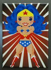 Wonder Woman Anime cute cartoon FRIDGE MAGNET Pin Up DC Comics Comic Book Q18