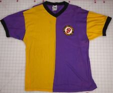 Rolling Stones Vee-Neck Europe 90 Purple & Gold One Size Soccer Shirt
