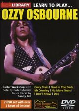 Lick Library LEARN TO PLAY OZZY OSBOURNE Guitar Lessons 2 DVDs With Danny Gill