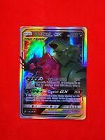 126/236 RARE carte card holo Pokemon MEGA SABLEYE & TYRANITAR Anglaise replica