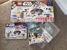 Lego Star Wars 7666 Hoth Rebel Base complete boxed Luke Skywalker K-3PO DAK
