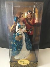 2016 Disney Store Belle And Gaston Fairytale Designer Dolls Limited Edition