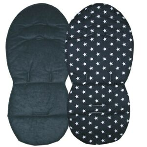 Reversible Seat Liners for iCandy Peach Pushchairs - Black Designs