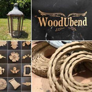 WoodUBend Mouldings Heat Bendable Paintable Stainable