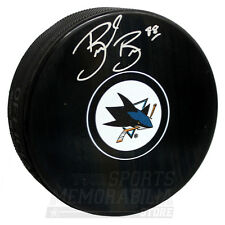 Brent Burns San Jose Sharks Signed Autographed Sharks Hockey Puck