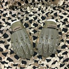 New Valken Alpha Full Finger Paintball Gloves - Tan - Medium