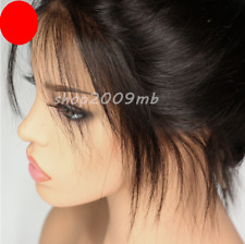 Lace Front Hair Wigs+Baby Hair Hairline Straight Brazilian Wig Pre Plucked