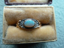 Opal Vollopal Ring 585 GG