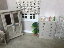 12th scale dollshouse furniture Set , With Added Mirrors