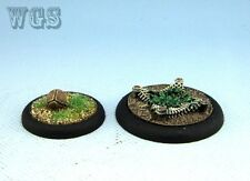 25mm WGS Guild Ball games painted Hunter's Guild a ball & trap GB8