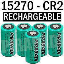 5 PILE ACCU BATTERIE 15270 CR2 CR-2 Li-ion 3V 800Mah RECHARGEABLE