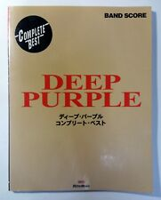 DEEP PURPLE COMPLETE BEST BAND SCORE JAPAN GUITAR TAB