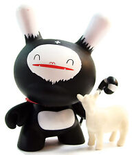 "Kidrobot Dunny Series 3 FRIENDS WITH YOU GOAT HERDER 3"" Vinyl Figure 2006"