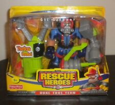 NEW 2003a FISHER PRICE RESCUE HEROES DUAL TOOL TEAM GIL GRIPPER