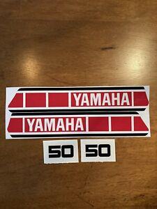 yamaha YZ50 YZ80 YZ100 YZ125 YZ250 YZ400 1977-78 Decal Set/ Sticker Kit