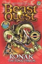 Ronak the Toxic Terror: Book 88 (Beast Quest), Blade, Adam, Very Good condition,