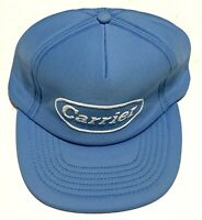 Vintage Advertising Hat Cap Carrier Air Conditioning Foam Hat Made In USA Blue