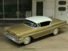 Classic 1958 58 Chevrolet Impala V-8 Sport Coupe 1/64 Scale Limited Edition H15
