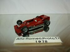 C SCALE 010 - ALFA ROMEO PROTOTYPE 3C 1978 KIT (built)  F1 1:43 - NICE CONDITION