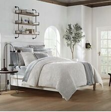 UGG Olivia Queen Duvet Cover in Seal Grey