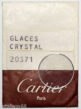 Genuine crystal CARTIER  # 20371 watch parts. New old stock