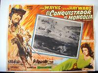 THE CONQUEROR/JOHN WAYNE/1956/OPTIONAL SET MEXICAN LC