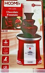 Kit Fonduta Cioccolata Fontana di Cioccolata Cioccolatiera Elettrica Hoomei