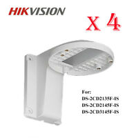 4pc Hikvision DS-1258ZJ Dome Wall Mount Bracket for DS-2CD2142/85FWD-I IP Camera