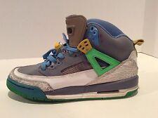 Nike Jordan Spizike GS Easter Stealth Grey Green Blue 317321-056 Size 6.5