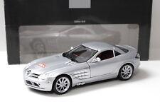"1:18 Maisto Mercedes SLR McLaren ""MOT"" silver DEALER NEW bei PREMIUM-MODELCARS"