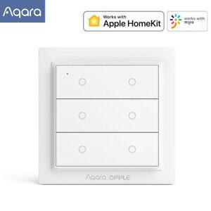 Aqara | OPPLE Drahtloser Switch Smart Homekit Wandschalter Home App Zigbee 3.0