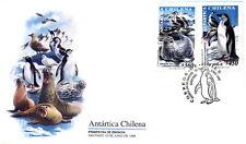 Chile 1999 FDC Chilean Antarctic Penguins