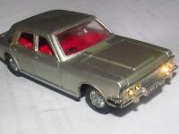 RARE Vintage Dinky Toys Meccano Ltd – FORD ZODIAC - diecast model car Silver