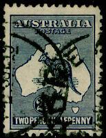 AUSTRALIA SG25, 2½d indigo, USED. Cat £30.