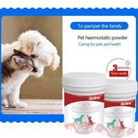 Pet Cat Dog Hemostatic Powder Quickly Stop Bleeding Analgesic G6I6