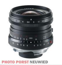 Voigtländer Ultron 2,0/28 mm VM / Leica Black Vitrinenexemplar