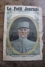 Petit journal dibujada nº1327 1916 General Nivelle Postal- Verdun Curia Boches