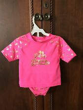 New With Tags Lilly & Dan Girls Size4T Three Piece Bathing Set