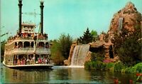 Vtg Postcard 1960s Disneyland Mark Twain  Frontierland Rivers of America Unused