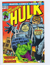 Incredible Hulk #167 Marvel 1973