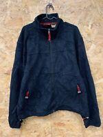 Men's L.L. Bean Full Zip Fleece Jacket Jumper Polartec Sz L Large
