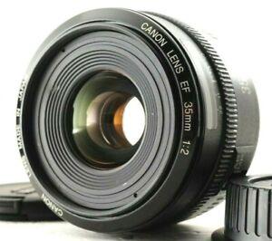 N.MINT Canon EF 35mm f/2 Wide Angle AF Prime Lens From Japan