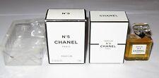 Vintage Perfume Bottle Chanel No 5 Bottle/Boxes 7 ML, 0.24 OZ, Sealed 3/+4 Full